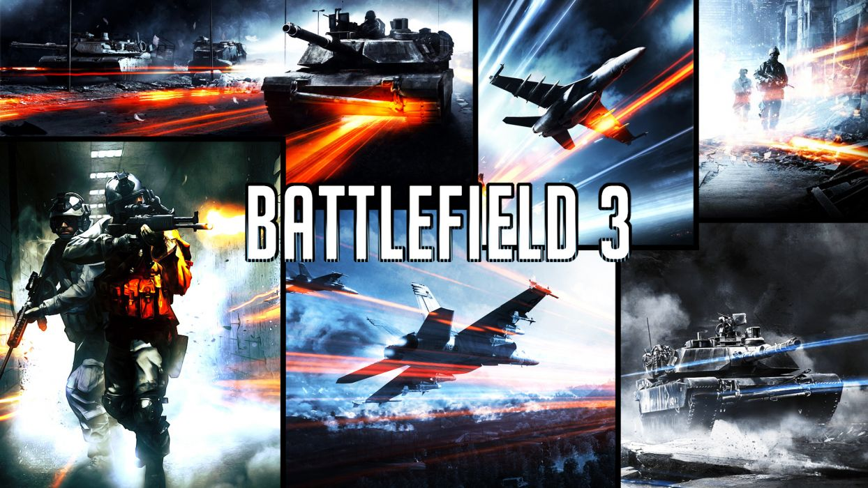 battlefield games video-games military soldiers weapons guns wallpaper