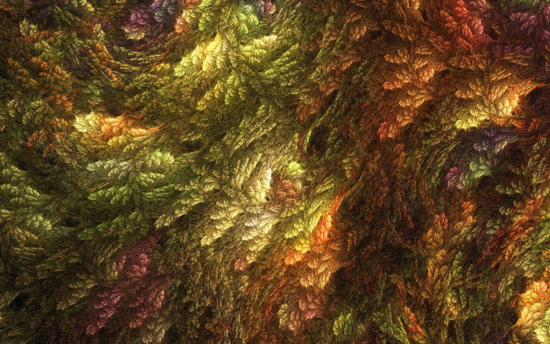 abstract fractals colors patterns 3d cg digital-art wallpaper