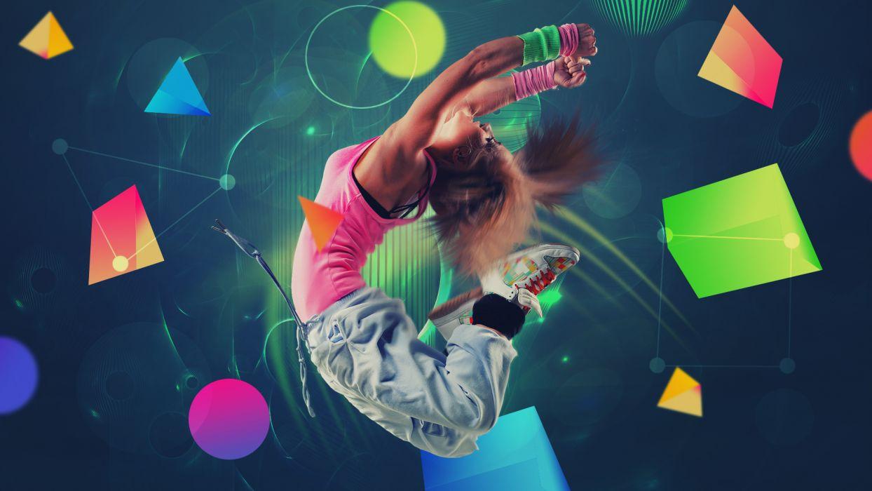 women females girls babes models dance hip hip-hop style urban wallpaper