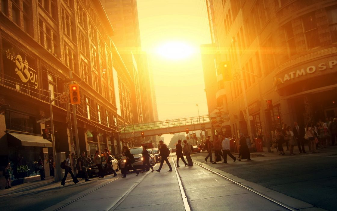 Cities Cityscapes People Mood Sunset Sunrise Architecture
