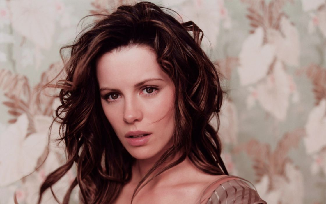 Brunettes women actress kate beckinsale celebrity faces portraits wallpaper