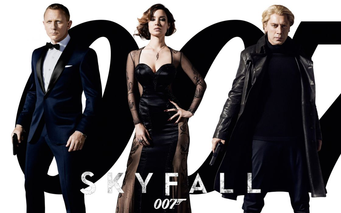 Skyfall bond james-bond movies people men women celebrities wallpaper
