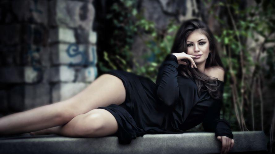 women females girls models sexy babes sensual wallpaper