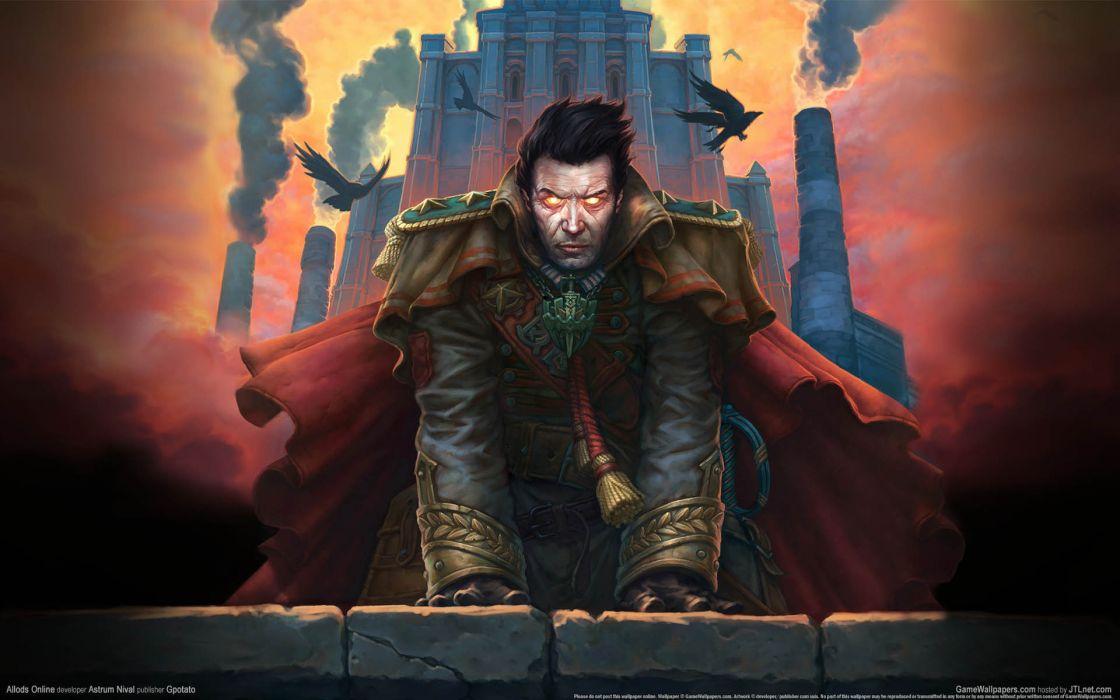 allod-online allods games video-games fantasy dark evil demon wallpaper