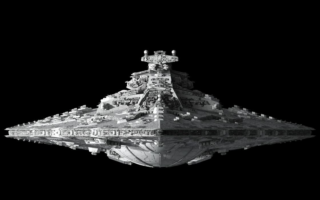 sci-fi star-wars wars spaceship spacecraft 3d cg digital-art wallpaper