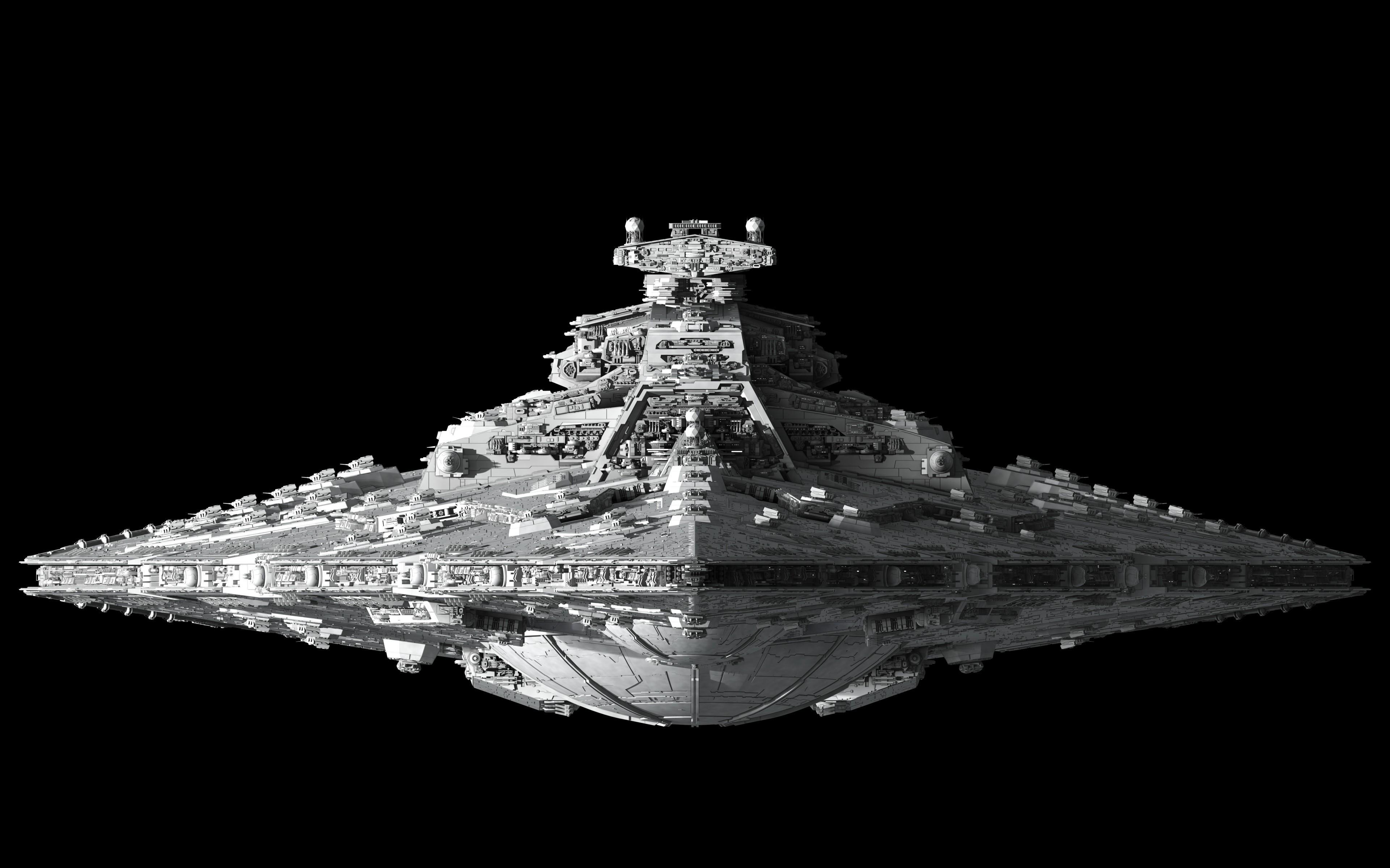 sci fi star wars wars spaceship spacecraft 3d cg digital art wallpaper 3840x2400 24094. Black Bedroom Furniture Sets. Home Design Ideas