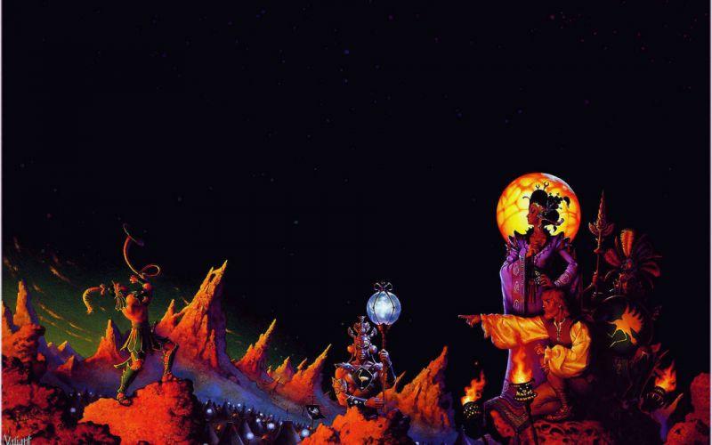 Servant-of-the-Empire books fantasy sci-fi landscapes alien alien-landscapes colors people adventure magical artistic wallpaper