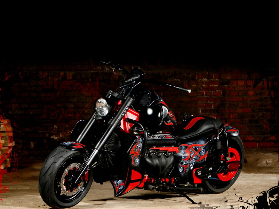 boss-hoss hoss motorcycles custom chopper wallpaper