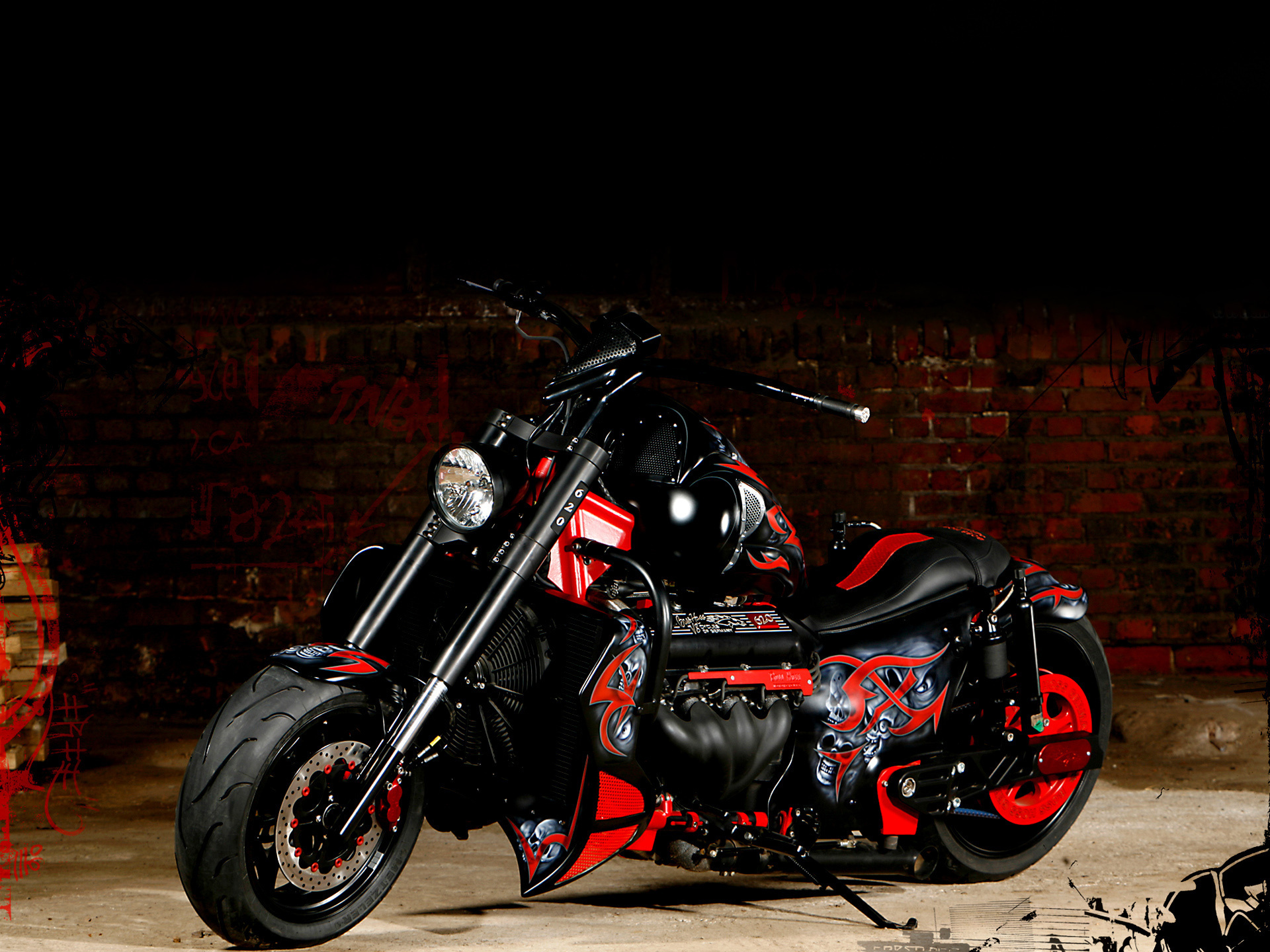 Boss-hoss hoss motorcycles custom chopper wallpaper ...