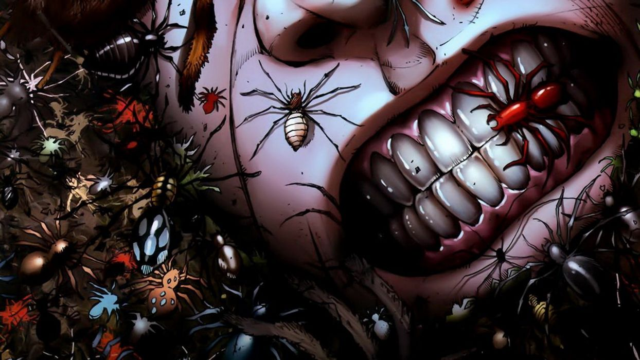 Grimm-Fairy-Tales comics anime dark horror insects spider grimace gross spooky creepy scary wallpaper