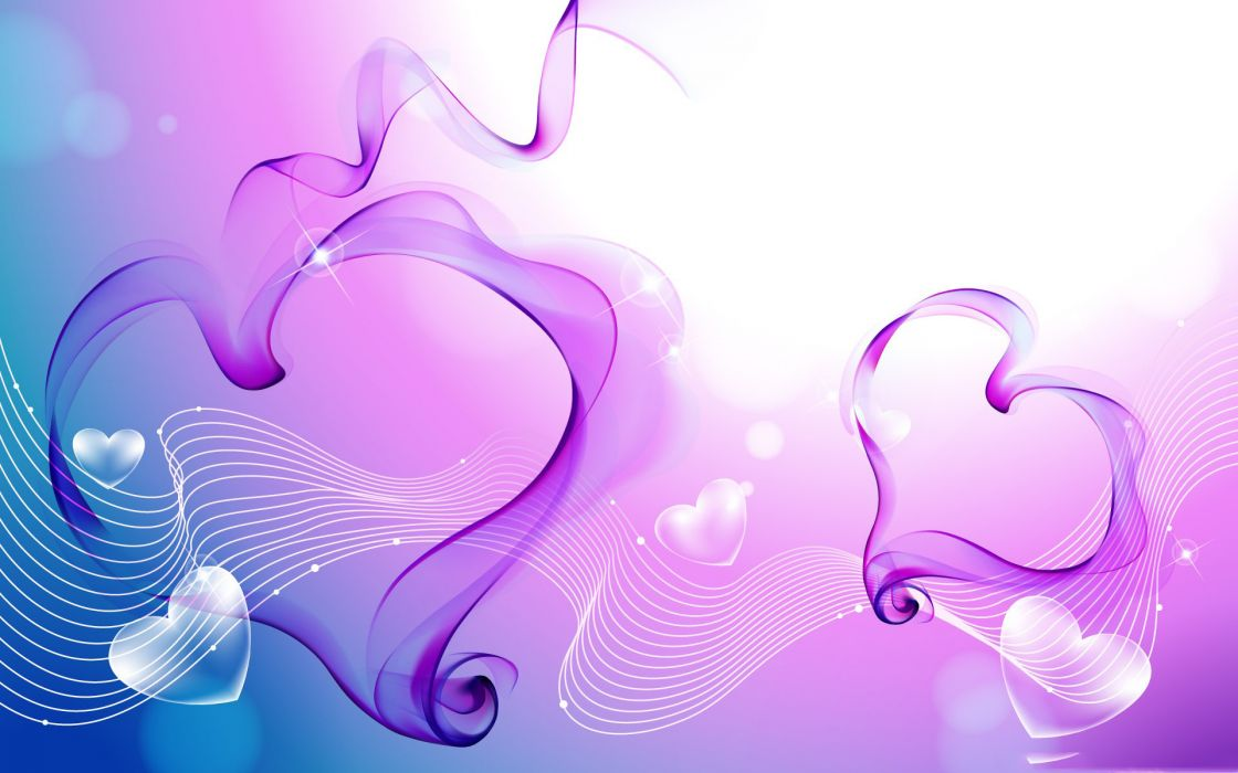 love romance valentines-day valentines heart vector abstract artistic wallpaper