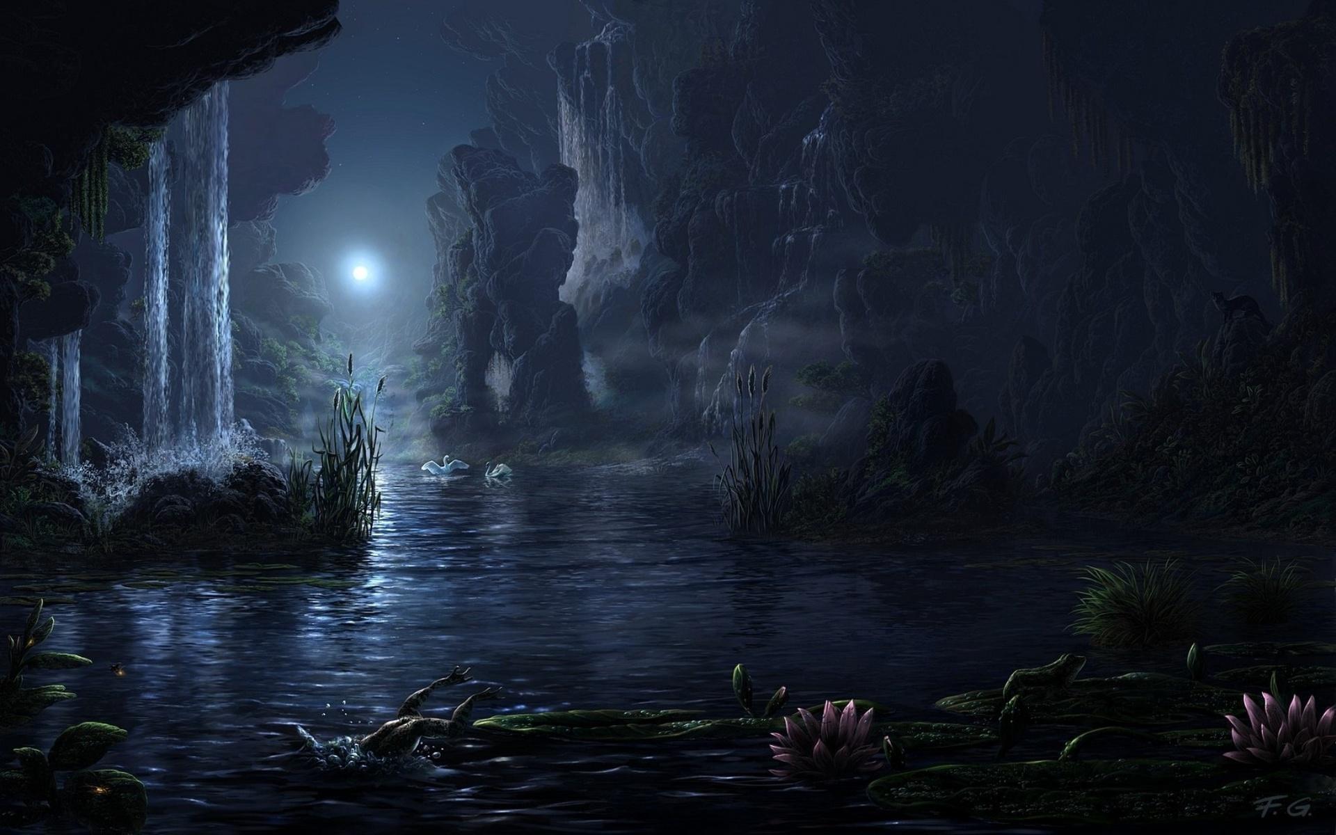 magical fantasy landscapes landscape - photo #8