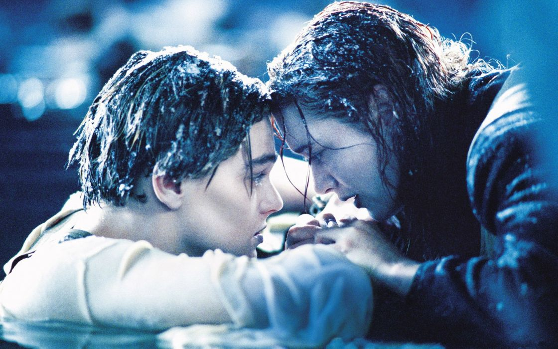 titanic cold death love romance mood emotion situation people celebrities actress actor winslett dicaprio wallpaper