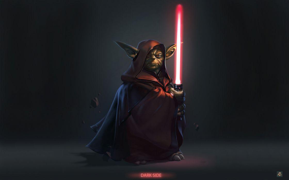 star-wars star wars lightsaber weapons sword laser yoda alien creature movies sci-fi wallpaper