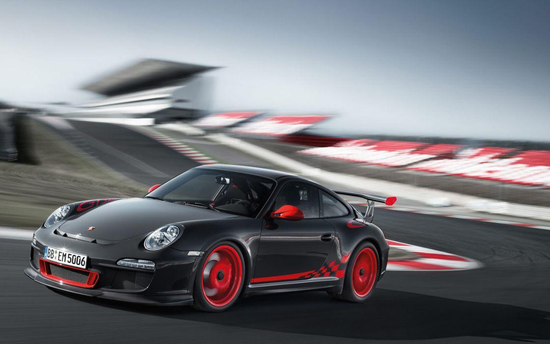 vehicles cars porsche track motion wheels rims tuning contrast wallpaper
