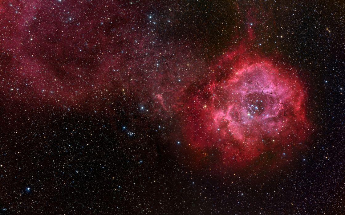 sci-fi science space universe stars nebula colors wallpaper