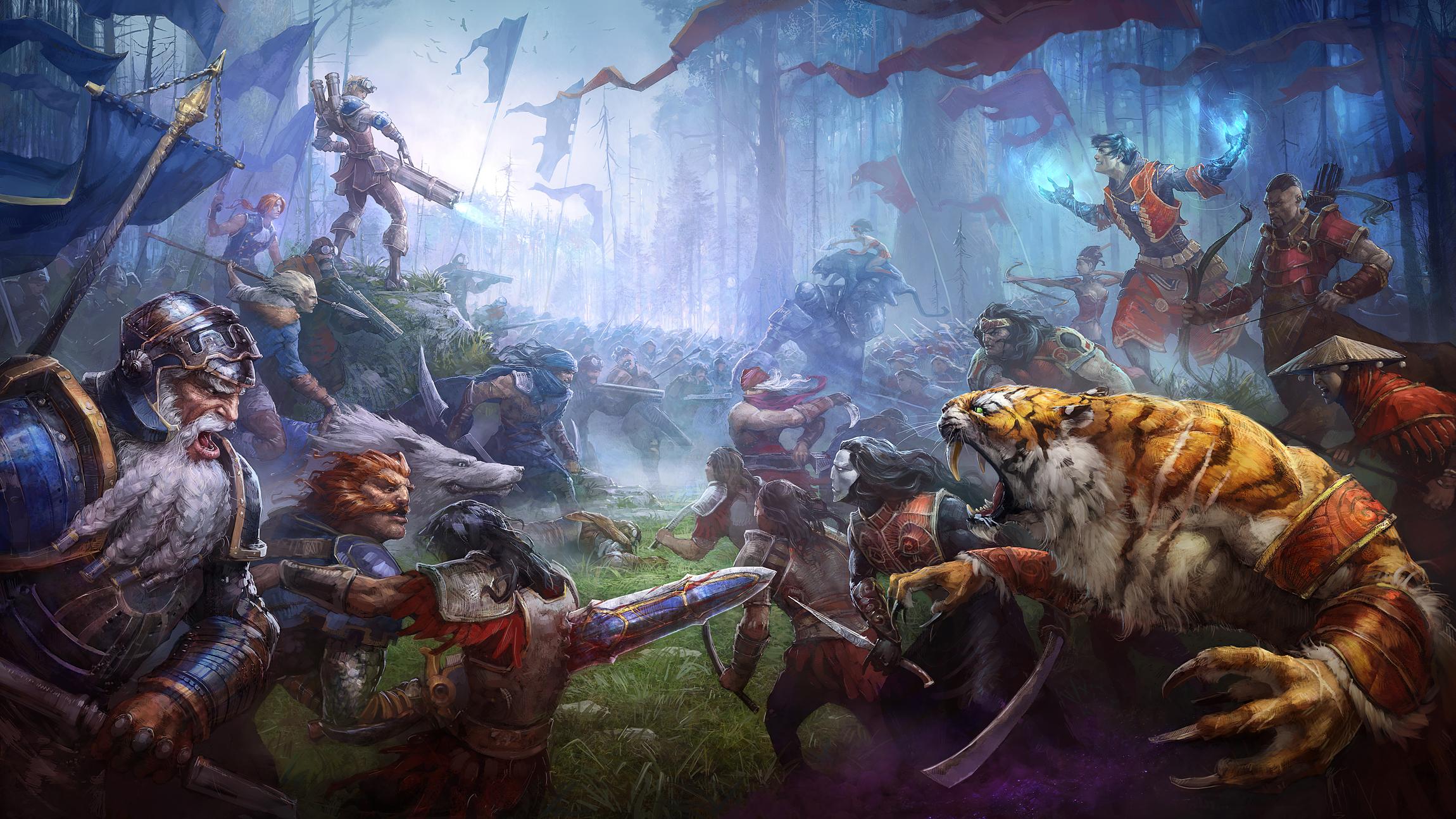 Epic battle fantasy wallpaper - photo#6