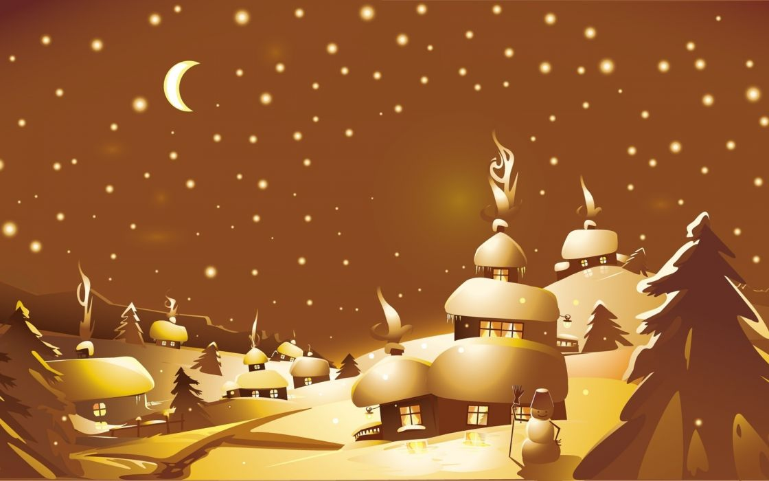 holidays christmas seasonal wallpaper