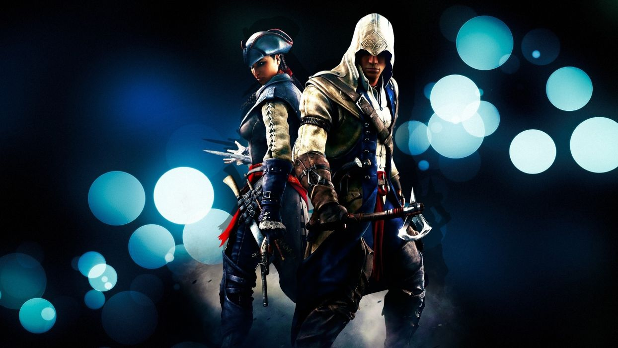 assassins creed creed warrior soldier weapons people sparkle men males fantasy video wallpaper