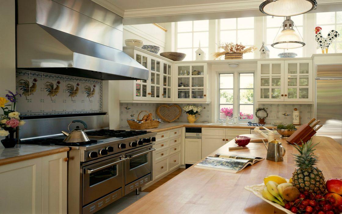 interior design style design home villa cottage room kitchen houses architecture sunlight lights fruit food pantry wallpaper