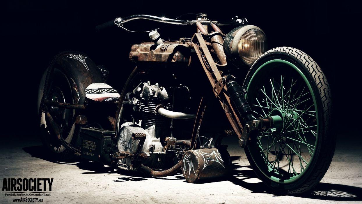 bike custom chopper ride yamaha rust vehicles rats suspension motorbikes air 1920 1080 wallpaper Vehicles Motorcycles HD chopper sled wheels spokes rims engine lowrider retro wallpaper