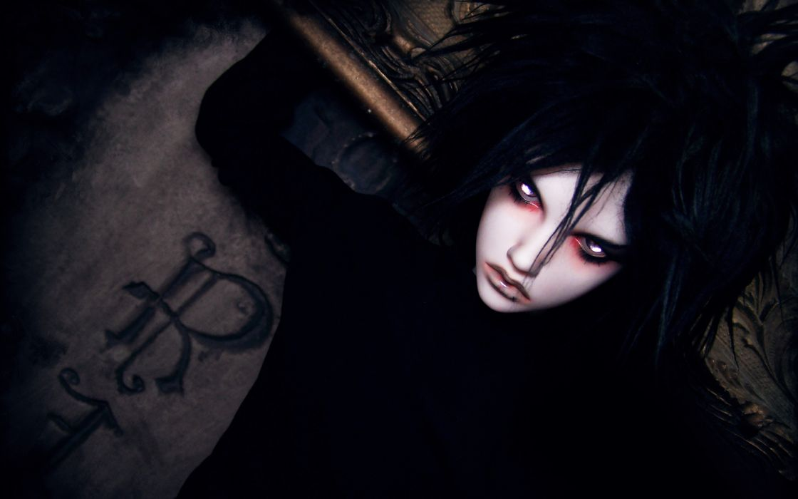Death Note anime manga faces eyes demon pales gothic vampire death creepy spooky horror people art artistic stare look  wallpaper