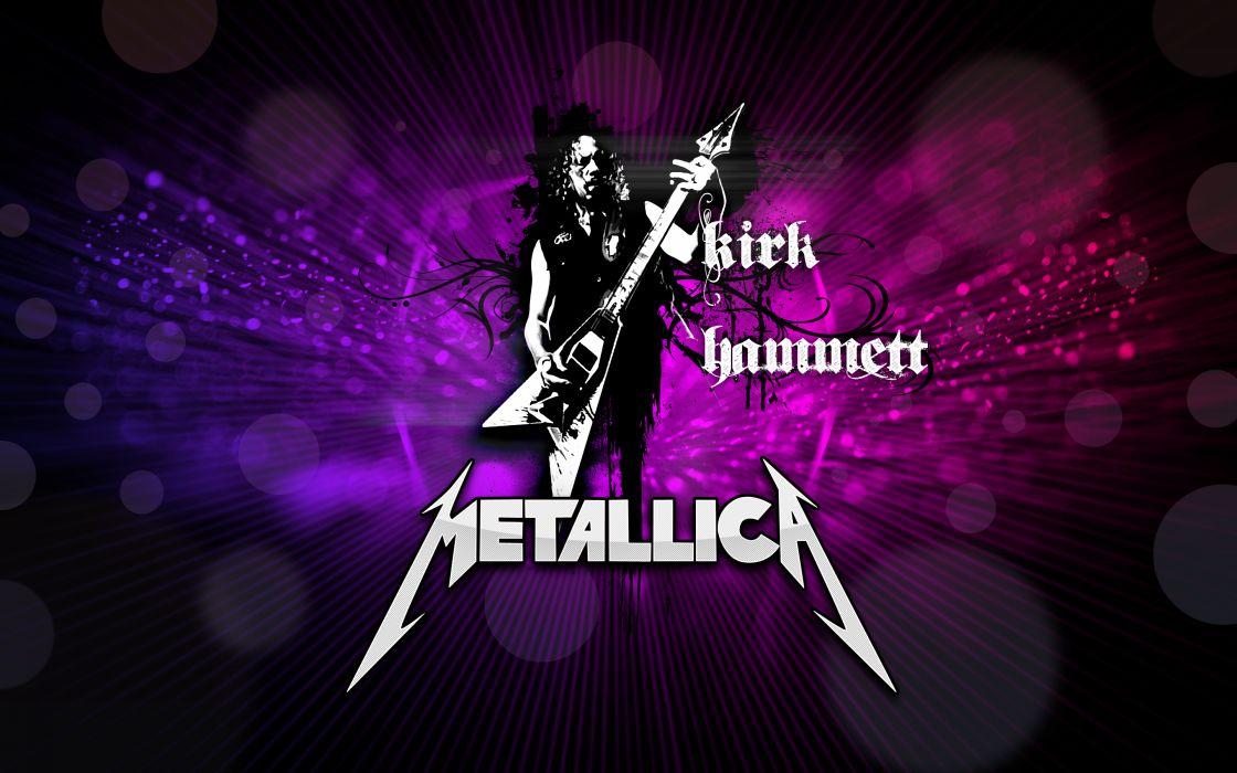 metallica bands groups music entertainment heavy metal hard rock thrash guitars wallpaper
