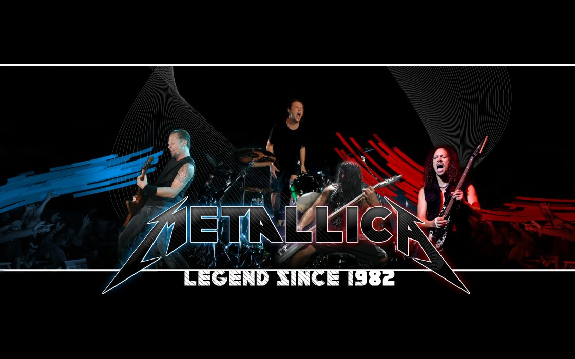 metallica bands groups music entertainment heavy metal hard rock thrash conder guitars logo wallpaper