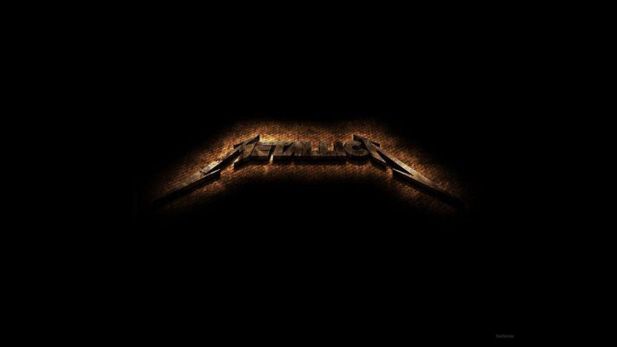 metallica bands groups music entertainment heavy metal hard rock thrash logo wallpaper