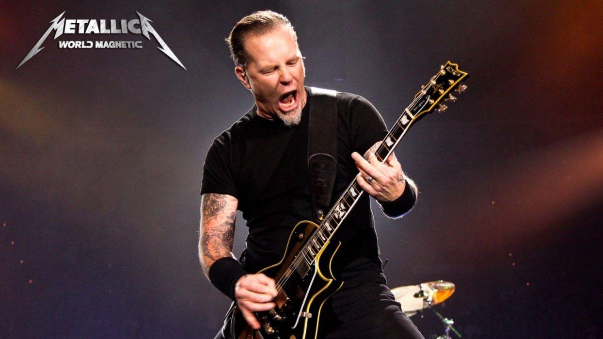 metallica bands groups music entertainment heavy metal hard rock thrash guitars logo concert wallpaper