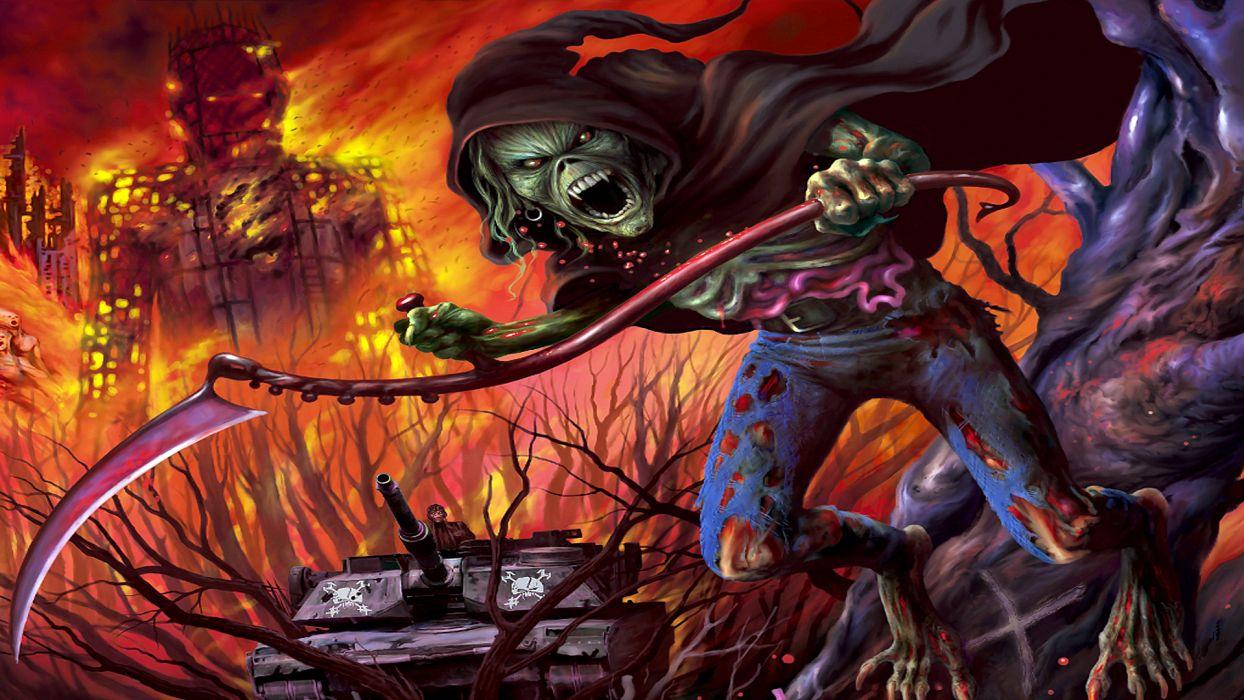 Iron Maiden Bands Groups Entertainment Hard Rock Heavy Metal Eddie