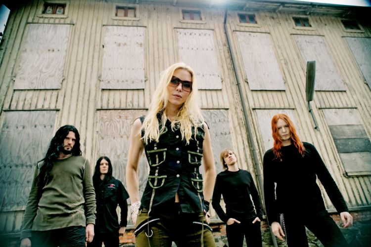 arch enemy groups bands heavy metal death hard rock music entertainment Angela Gossow people blondes women females girls wallpaper