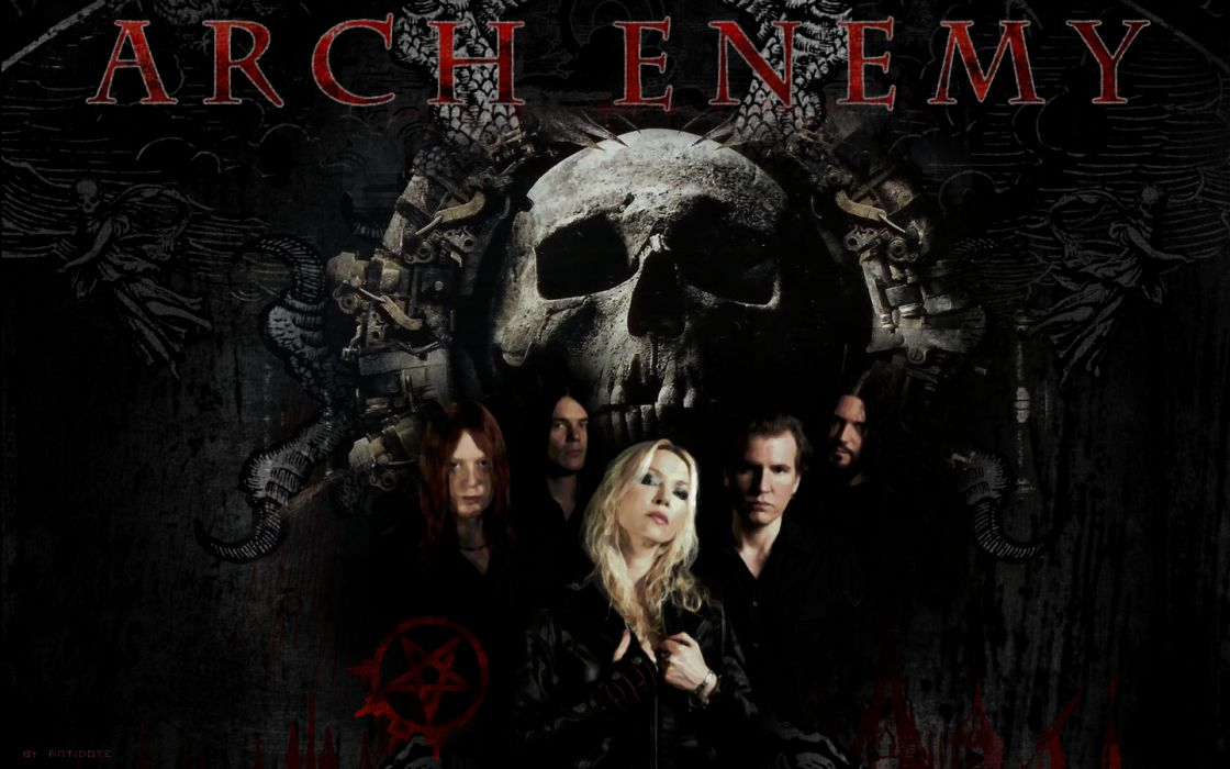 Arch Enemy Groups Bands Heavy Metal Death Hard Rock Music