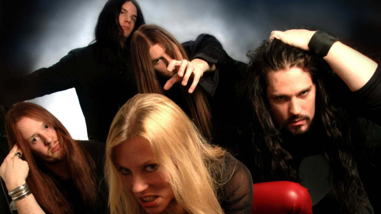 arch enemy groups bands heavy metal death hard rock music entertainment Angela Gossow wallpaper