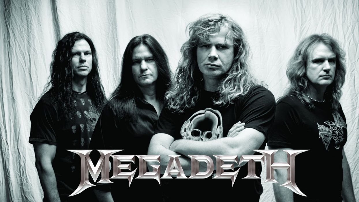 megadeth bands groups heavy metal thrash hard rock Dave Mustaine wallpaper
