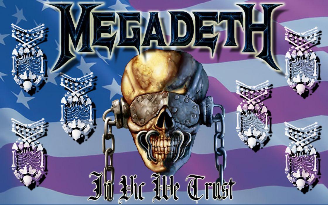 Megadeth Bands Groups Heavy Metal Thrash Hard Rock Album