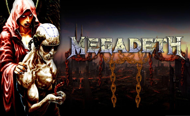 megadeth bands groups heavy metal thrash hard rock album covers Vic Rattlehead skulls wallpaper