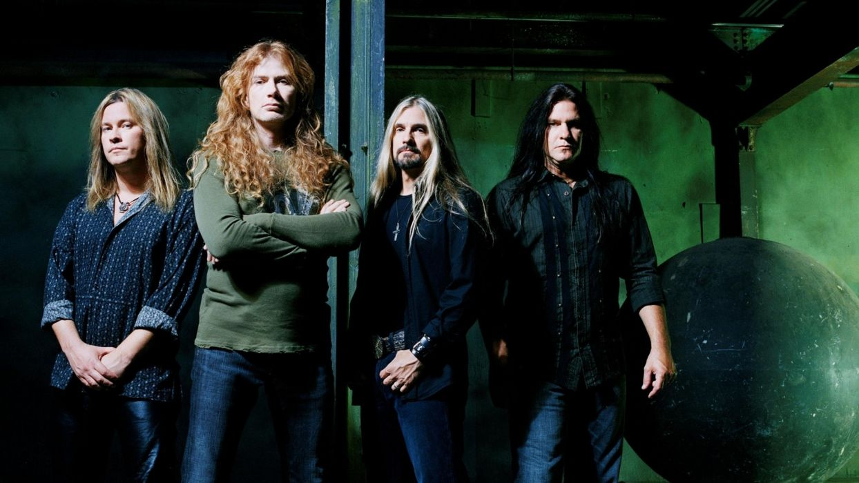 megadeth bands groups heavy metal thrash hard rock Dave Mustaine album covers Vic Rattlehead wallpaper