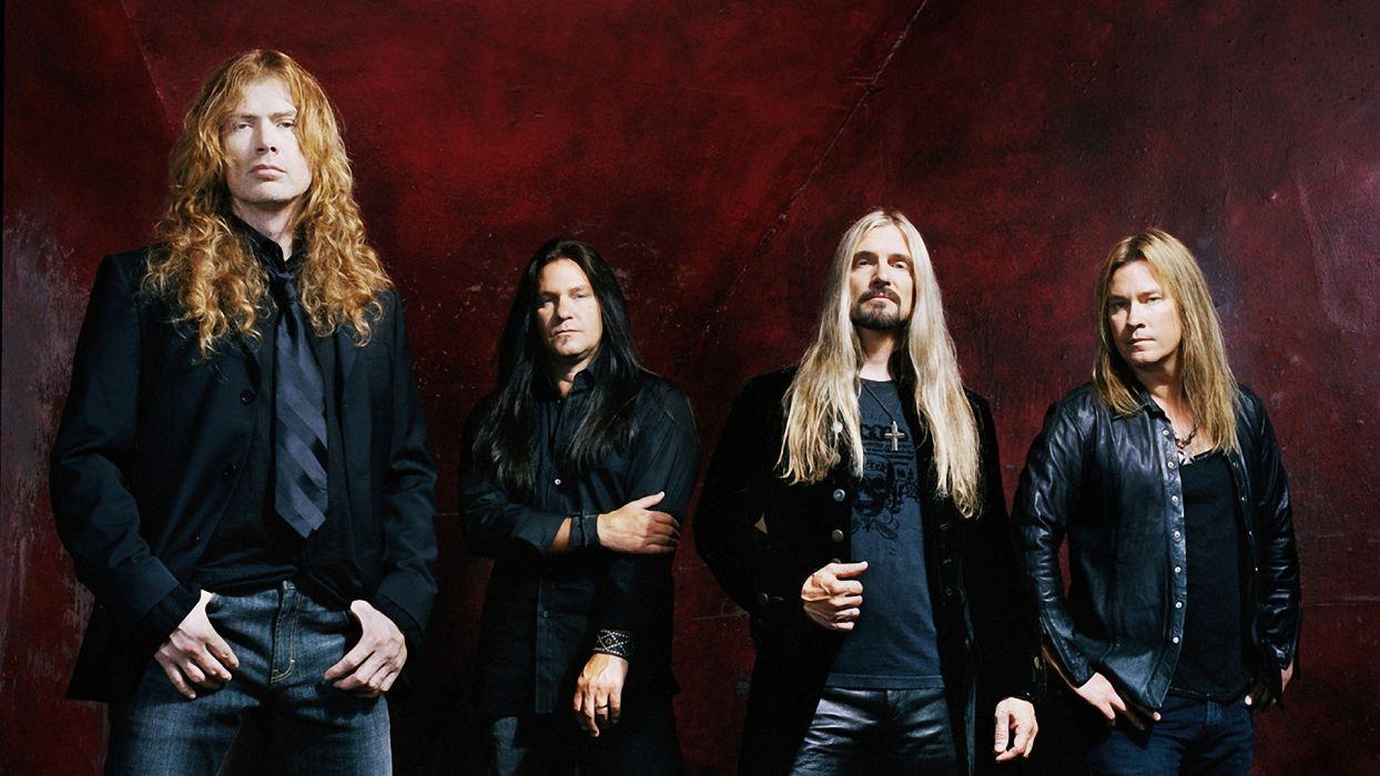 Megadeth Bands Groups Heavy Metal Thrash Hard Rock Dave