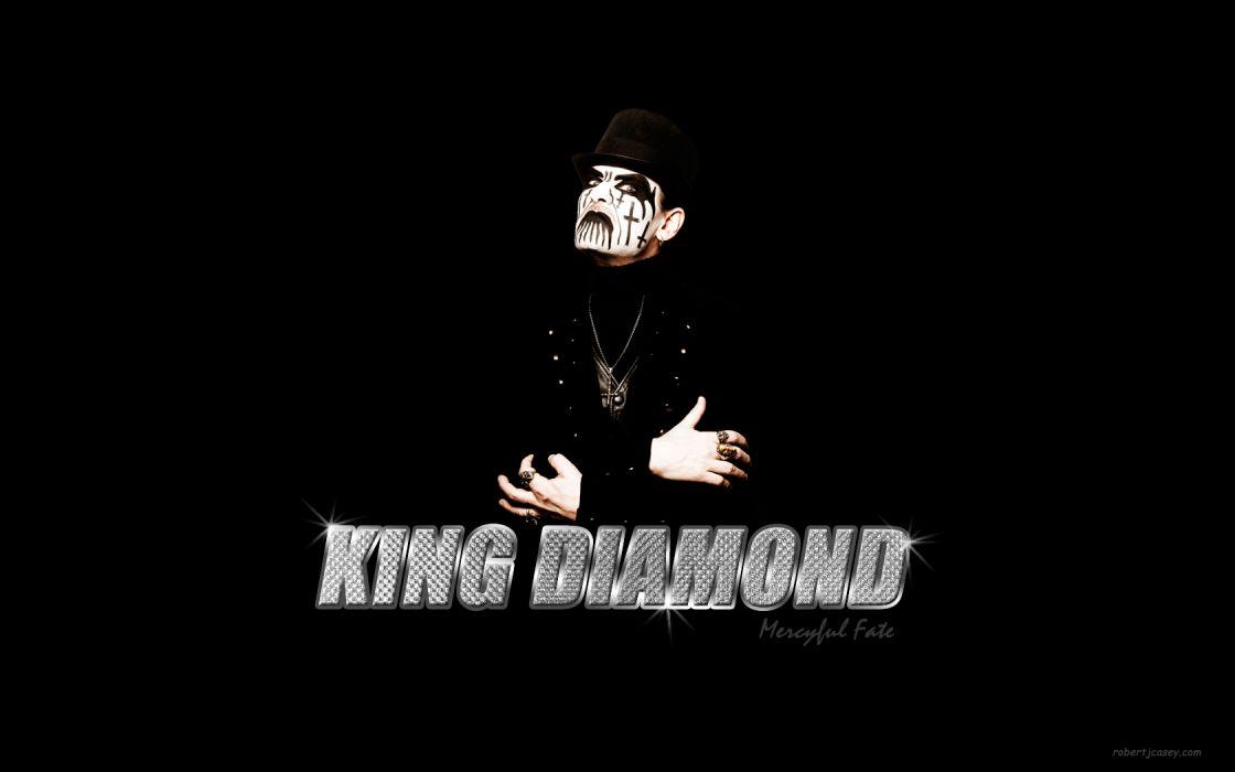 king diamond Mercyful Fate Danish bands groups heavy metal hard rock wallpaper