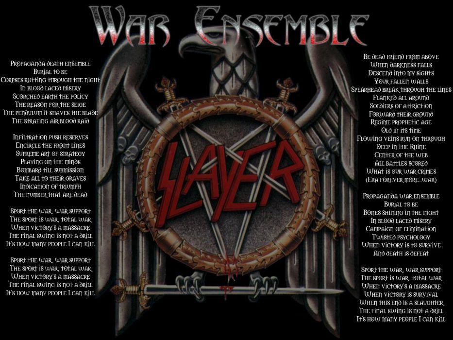 slayer groups bands music heavy metal death hard rock album covers wallpaper