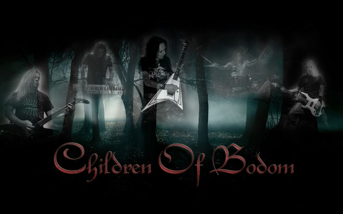 Children Of Bodom band groups music entertainment heavy metal death album covers wallpaper