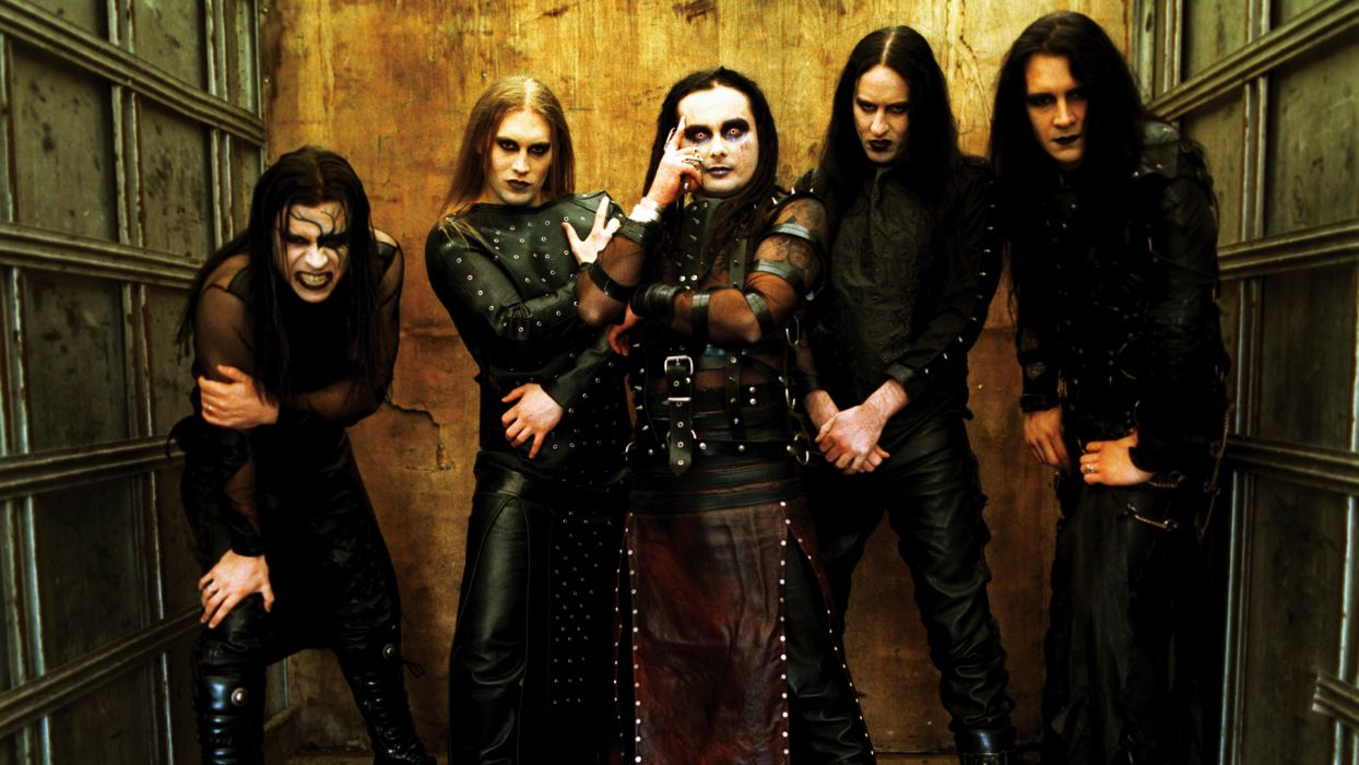 Cradle of Filth bands groups music entertainment heavy metal goth gothic hard rock nu wallpaper
