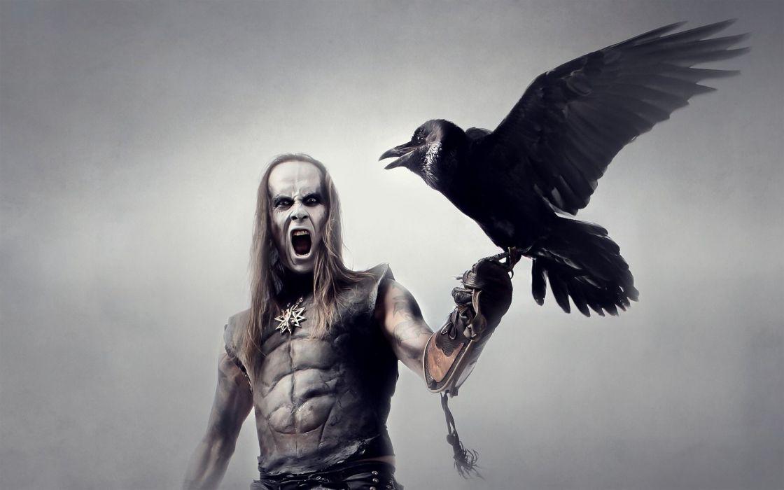 Behemoth black metal heavy hard rock entertainment music bands groups wallpaper