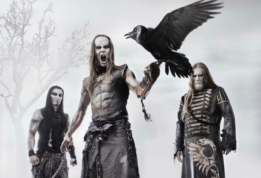 Behemoth black metal heavy hard rock entertainment music bands groups wallpaper