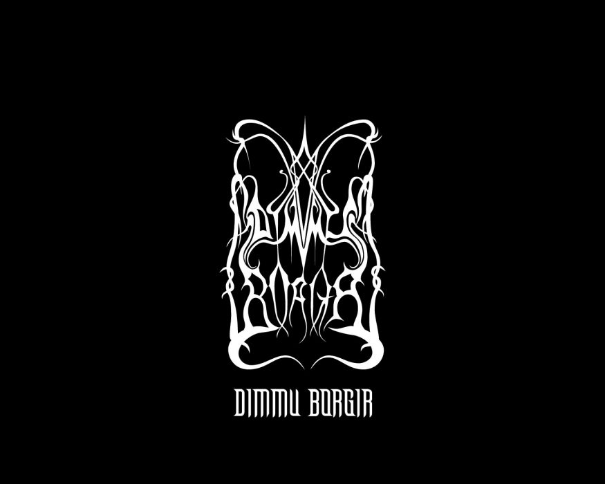 Dimmu Borgir black metal entertainment music groups bands album covers heavy hard rock wallpaper