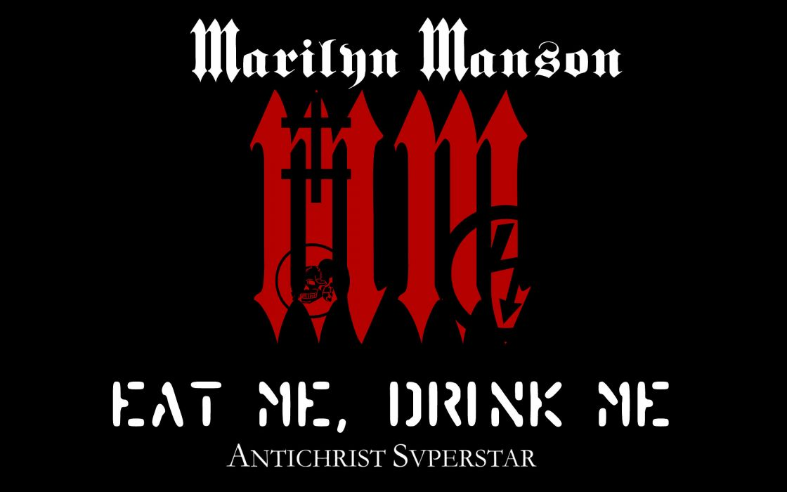 Marilyn Manson industrial metal nu heavy hard rock album covers bands groups wallpaper