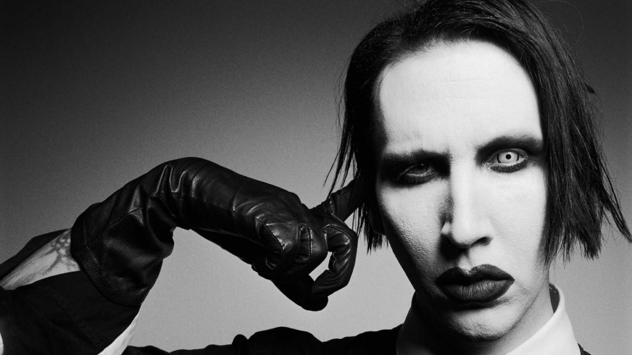 Marilyn Manson industrial metal nu heavy hard rock album covers bands groups wallpaper