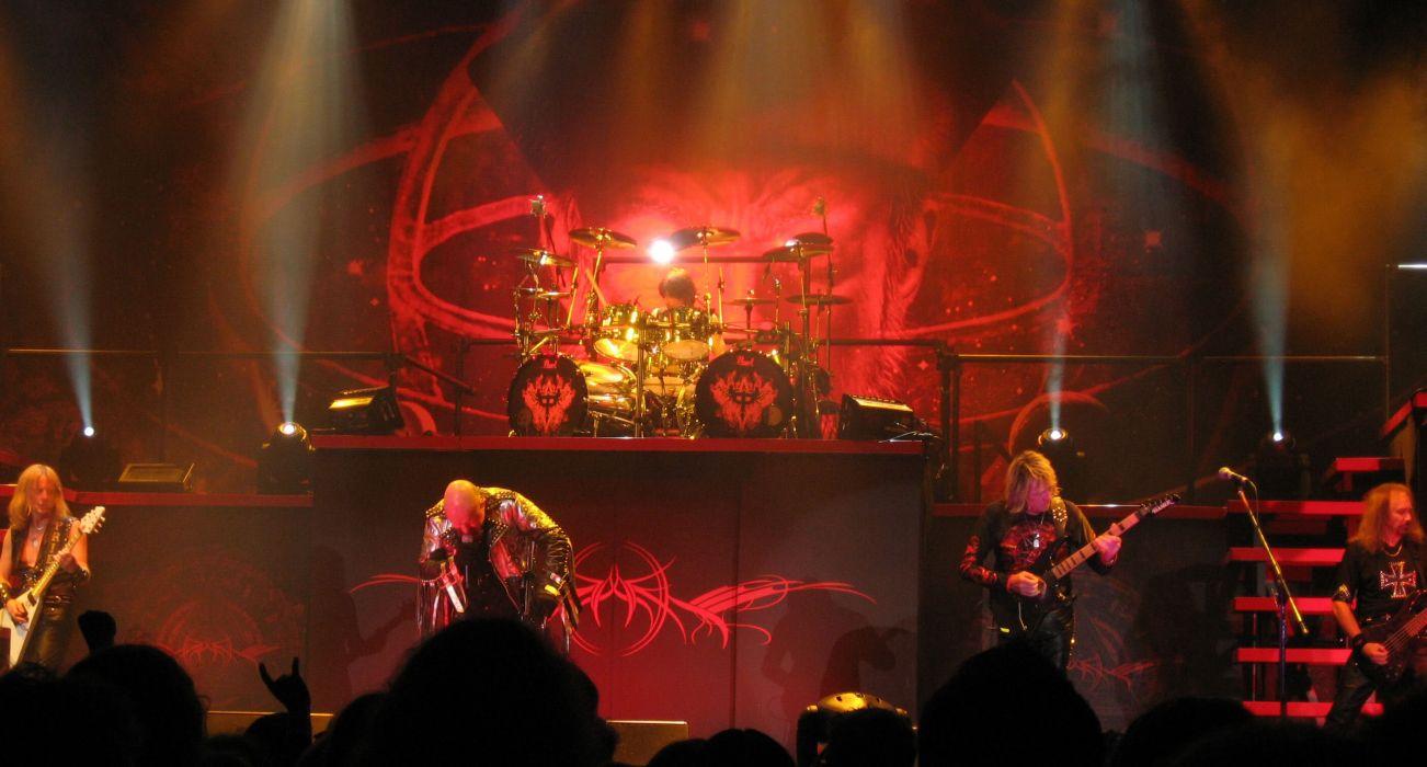 Judas Priest heavy metal groups bands entertainment music hard rock album covers guitars concert wallpaper