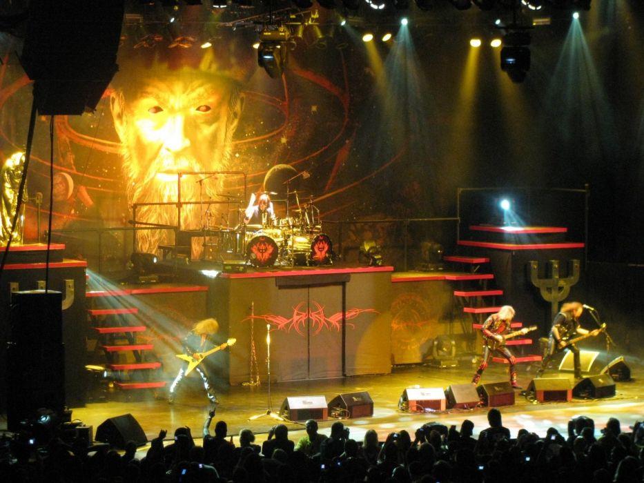 Judas Priest heavy metal groups bands entertainment music hard rock album covers guitars drums concert wallpaper